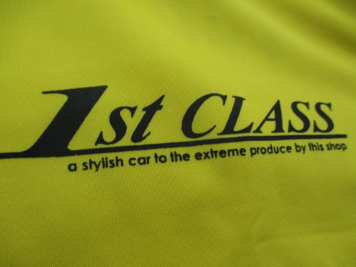 1ST CLASS Tシャツ☆イエロー